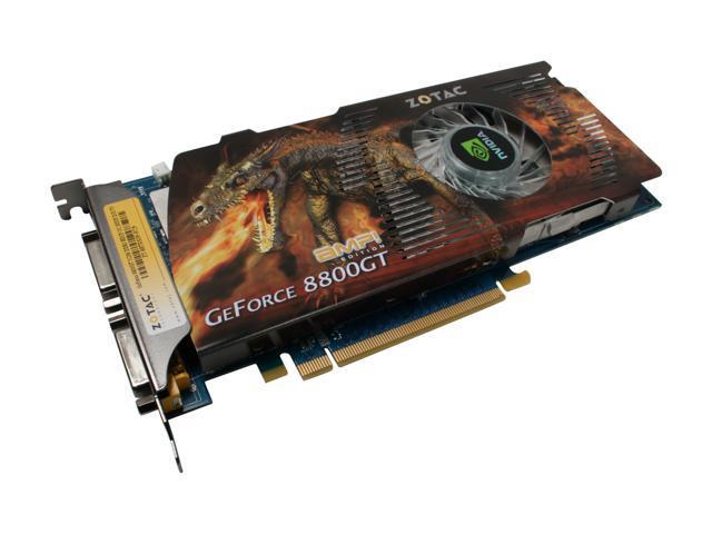 ZOTAC GeForce 8800 GT DirectX 10 ZT-88TES3P-FCP Video Card