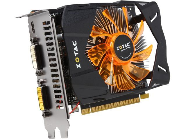 ZOTAC GeForce GTX 750 Ti DirectX 11.2 ZT-70603-10M 1GB 128-Bit GDDR5 PCI Express 3.0 x16 Video Card