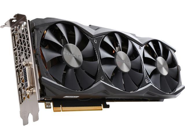 ZOTAC ZT-90503-10P GeForce GTX 980 Ti AMP! 6GB 384-Bit GDDR5 PCI Express 3.0 SLI Support Video Card