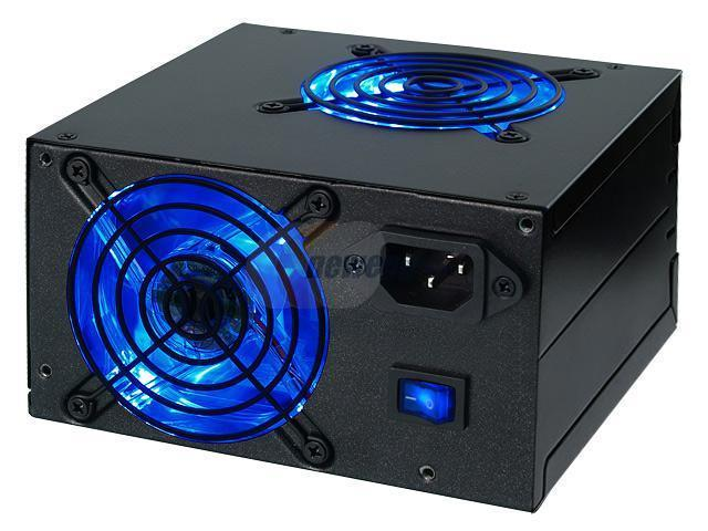 Rosewill RD550N-2DB-SL-BK 550W ATX Form Factor 12V V2.2 / SSI standard EPS 12V SLI Ready Active PFC Power Supply