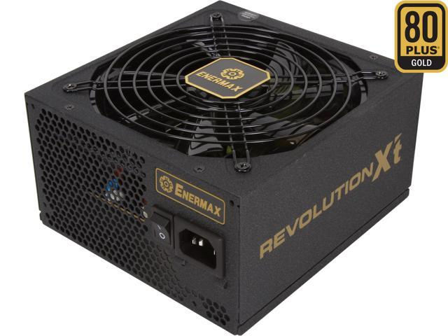 ENERMAX REVOLUTION X't ERX530AWT 530W ATX12V 80 PLUS GOLD Certified Modular Active PFC Power Supply