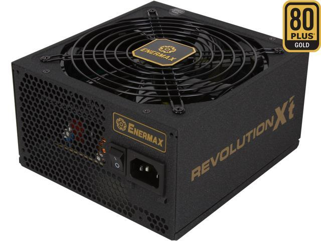 ENERMAX REVOLUTION X't ERX730AWT 730W ATX12V 80 PLUS GOLD Certified Modular Active PFC Power Supply