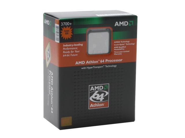 AMD Athlon 64 3700+ 2.2 GHz Socket 939 ADA3700BNBOX Processor