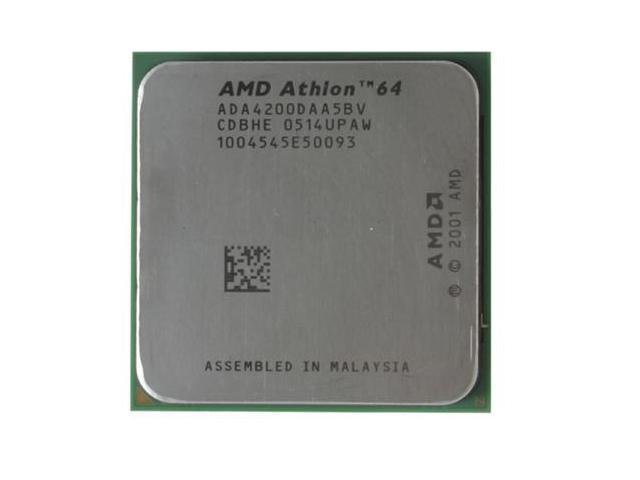 AMD Athlon 64 X2 4200+ Manchester Dual-Core 2.2 GHz Socket 939 89W ADA4200DAA5BV Processor