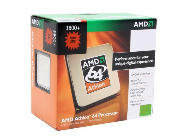AMD Athlon 64 3800+ 2.4 GHz Socket AM2 ADA3800CNBOX Processor