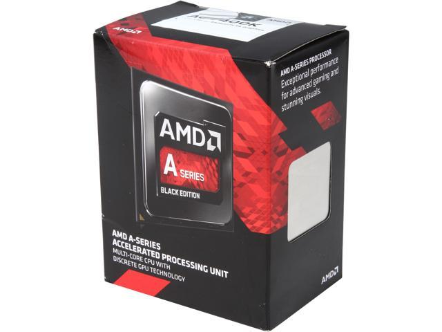 AMD AMD A6-7400K Kaveri Dual-Core 3.5 GHz Socket FM2+ AD740KYBJABOX Desktop Processor Radeon R5 series