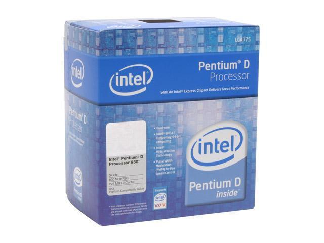 Intel Pentium D 930 3.0 GHz LGA 775 BX80553930 Processor