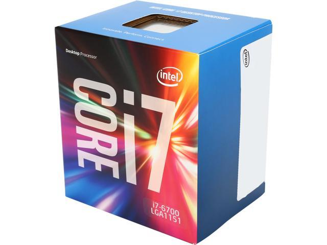 Intel Core i7-6700 8M Skylake Quad-Core 3.4 GHz LGA 1151 65W BX80662I76700 Desktop Processor Intel HD Graphics 530