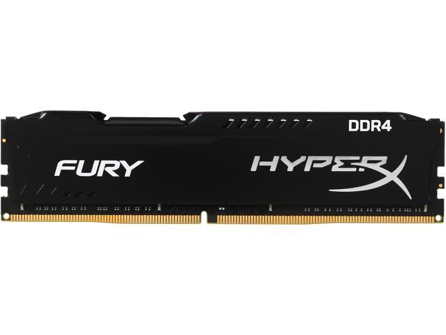 HyperX FURY 8GB 288-Pin DDR4 SDRAM DDR4 2133 (PC4 17000) Desktop Memory Model HX421C14FB/8