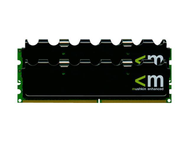 Mushkin Enhanced Blackline 4GB (2 x 2GB) 240-Pin DDR2 SDRAM DDR2 800 (PC2 6400) Dual Channel Kit Desktop Memory Model 996580