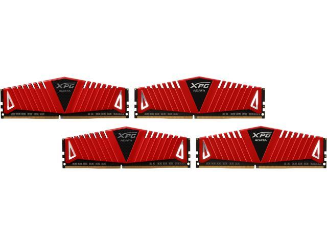 ADATA XPG Z1 32GB (4 x 8GB) 288-Pin DDR4 SDRAM DDR4 2400 (PC4 19200) Desktop Memory Model AX4U2400W8G16-QRZ