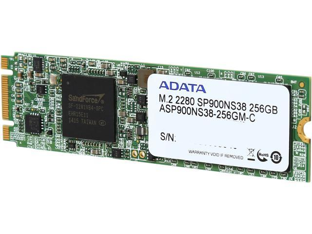 ADATA Premier Pro SP900 M.2 256GB SATA 6Gb/sec MLC Internal Solid State Drive (SSD) ASP900NS38-256GM-C