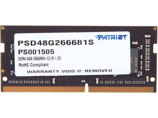 NeweggBusiness - Patriot Signature Line 8GB 260-Pin DDR4 SO