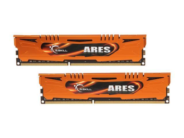 G.SKILL Ares Series 16GB (2 x 8GB) 240-Pin DDR3 SDRAM DDR3 1600 (PC3 12800) Desktop Memory Model F3-1600C10D-16GAO