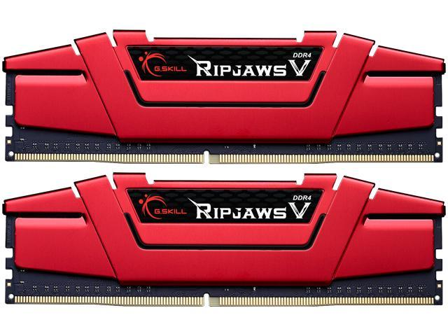 G.SKILL Ripjaws V Series 8GB (2 x 4GB) 288-Pin DDR4 SDRAM DDR4 2133 (PC4 17000) Intel Z170 Platform / Intel X99 Platform Desktop Memory Model F4-2133C15D-8GVR