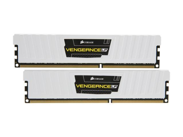 CORSAIR Vengeance 8GB (2 x 4GB) 240-Pin DDR3 SDRAM DDR3L 1600 (PC3L 12800) Desktop Memory Model CML8GX3M2A1600C9W