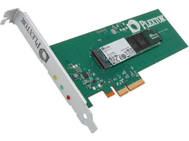 Plextor M6e PCI-E 128GB PCI-Express 2.0 x2 Internal Solid State Drive (SSD) PX-AG128M6e