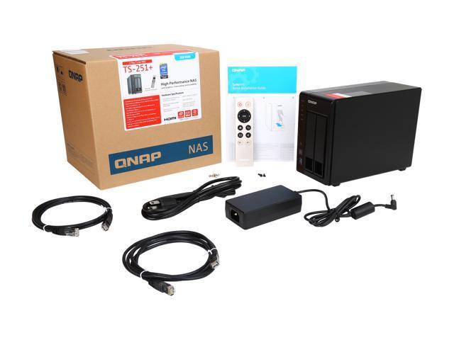 NeweggBusiness - QNAP TS-251+-2G-US 2-Bay Personal Cloud NAS