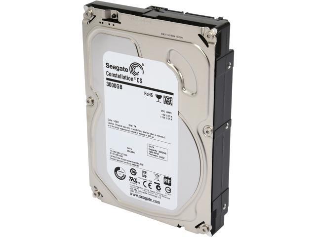Seagate Constellation CS ST3000NC002 3TB 7200 RPM 64MB Cache SATA 6.0Gb/s 3.5