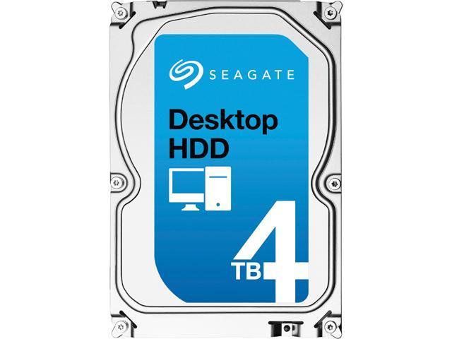 Seagate Desktop HDD ST4000DM000 4TB 64MB Cache SATA 6.0Gb/s 3.5