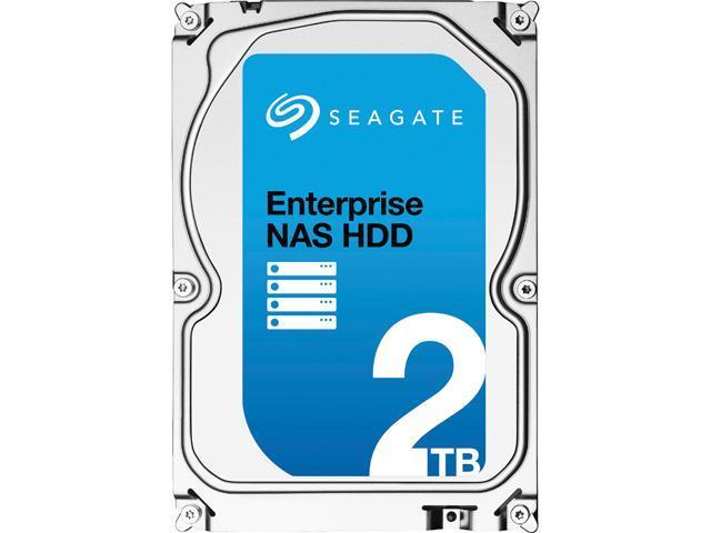 Seagate Enterprise NAS ST2000VN0001 2TB 7200 RPM 128MB Cache SATA 6.0Gb/s 3.5