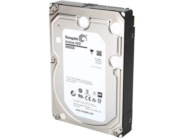 Seagate Archive HDD v2 ST8000AS0002 8TB 128MB Cache SATA 6.0Gb/s 3.5