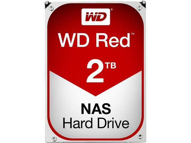 WD Red 2TB NAS Hard Disk Drive - 5400 RPM Class SATA 6Gb/s 64MB Cache 3.5 Inch - WD20EFRX
