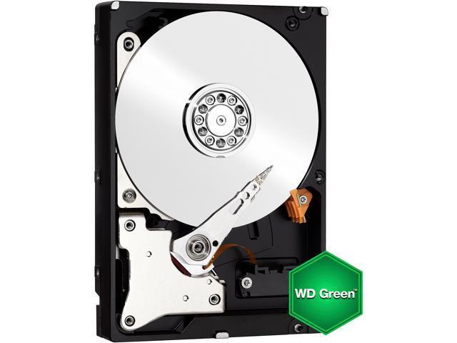 WD Green WD60EZRX 6TB IntelliPower 64MB Cache SATA 6.0Gb/s 3.5
