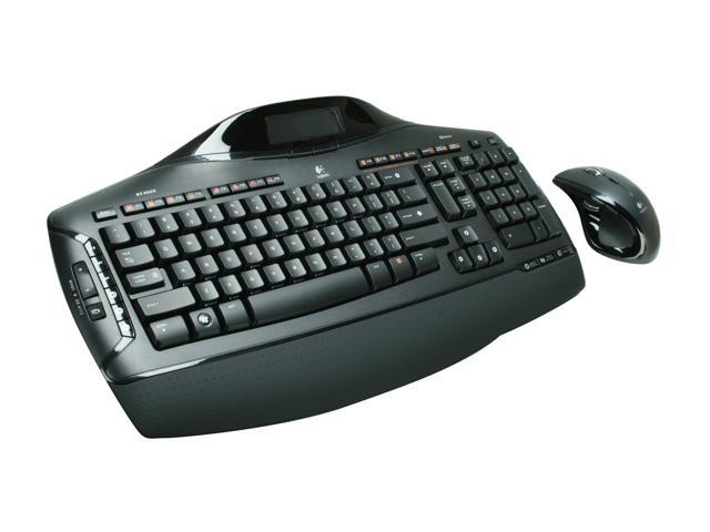 Logitech MX 5500 Revolution Black Cordless Cordless Desktop keyboard & Mouse Kit