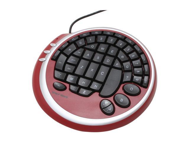 WOLF KING Warrior DK2388URD Red/Black Keyboard