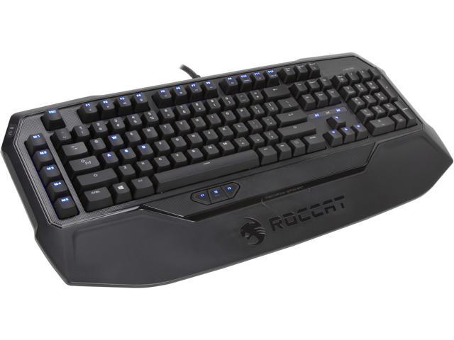 ROCCAT Ryos MK Pro Mechanical Gaming Keyboard with Per-Key Illumination - Brown Cherry MX Key Switch (ROC-12-851-BN)
