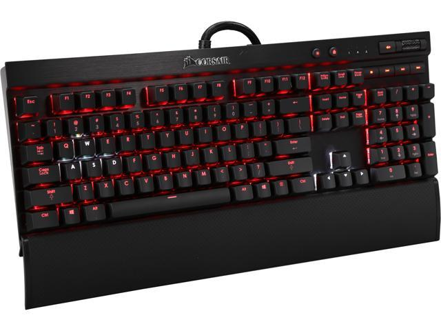Corsair Gaming K70 RGB Mechanical Gaming Keyboard___ Aircraft-grade Aluminum___ Backlit Multicolor LED - Cherry MX Red