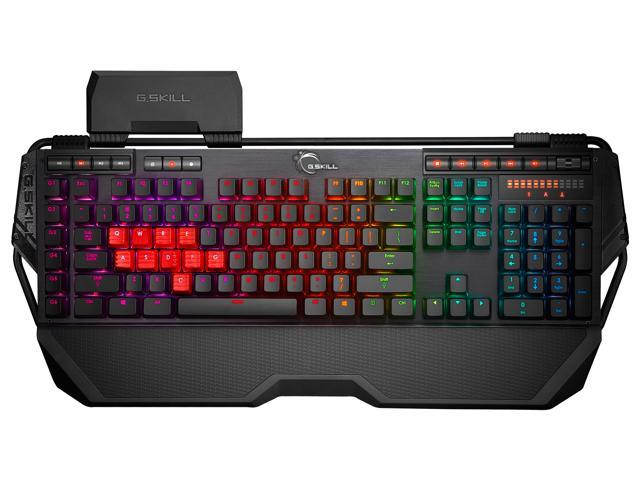 G.SKILL RIPJAWS KM780 RGB Mechanical Gaming Keyboard - Cherry MX Red Switches