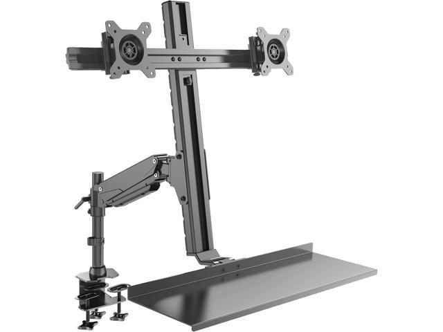Rosewill Dual Monitor Mount Sit Stand Desk Mount Height