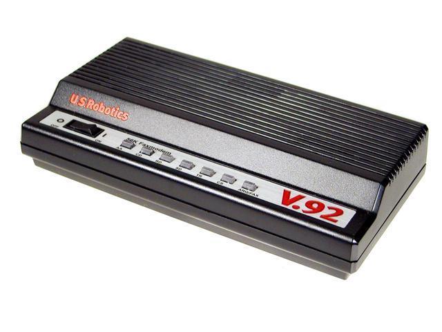 U.S. Robotics USR5686E V.92 External Fax modem