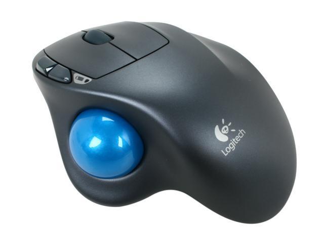 Logitech M570 910-001799 Black 5 Buttons 1 x Wheel USB RF Wireless Laser Trackball - Newegg.com