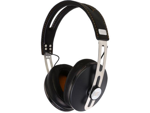 Sennheiser Momentum Around-Ear Headphone (M2) - iOS Devices - Black - Newegg.com