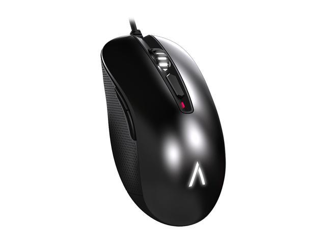 Azio EXO1-K Black 6 Buttons 1 x Wheel USB Wired Optical 3500 dpi Gaming Mouse
