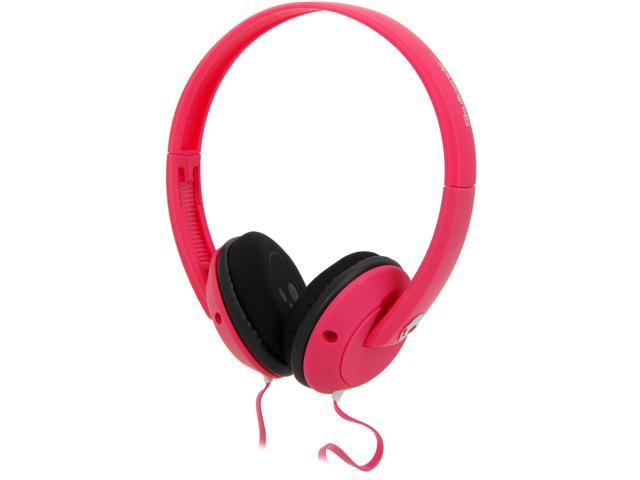 Skullcandy Pink/Black/Black S5URGY-416 Uprock Micd  On-Ear Headphones with Mic