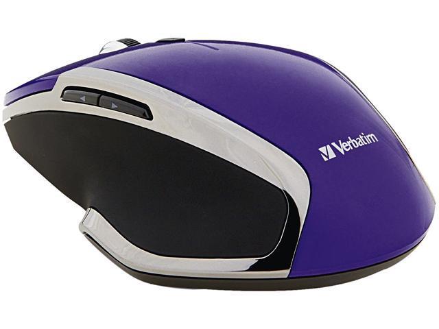 Verbatim 99017 Purple 6 Buttons 1 x Wheel RF Wireless Mouse