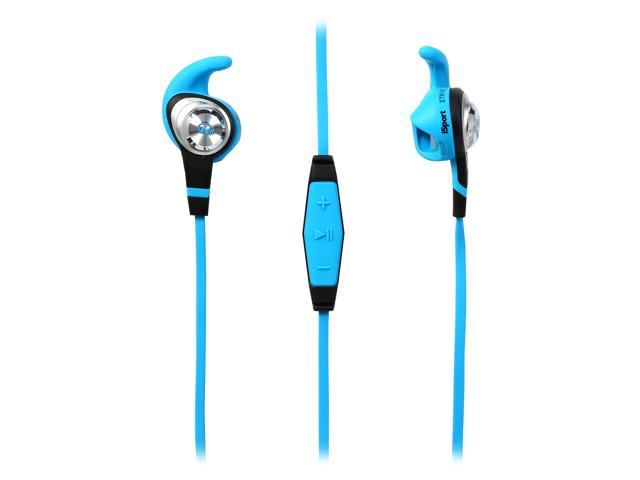 Monster iSport Strive In-Ear Headphones-Green
