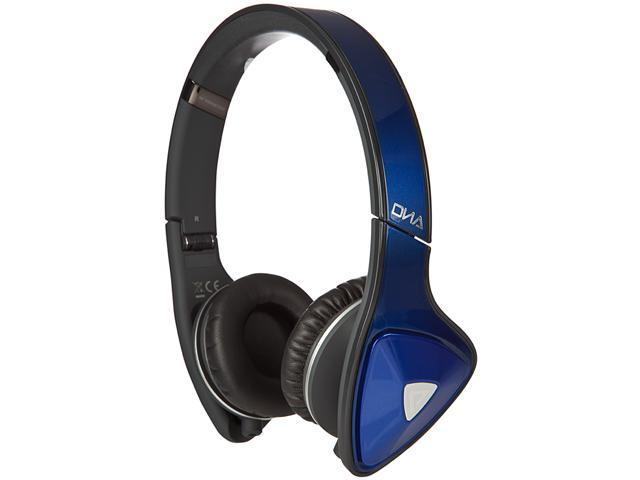Monster DNA On-Ear Headphones - Cobalt Blue over Dark Grey - 128467