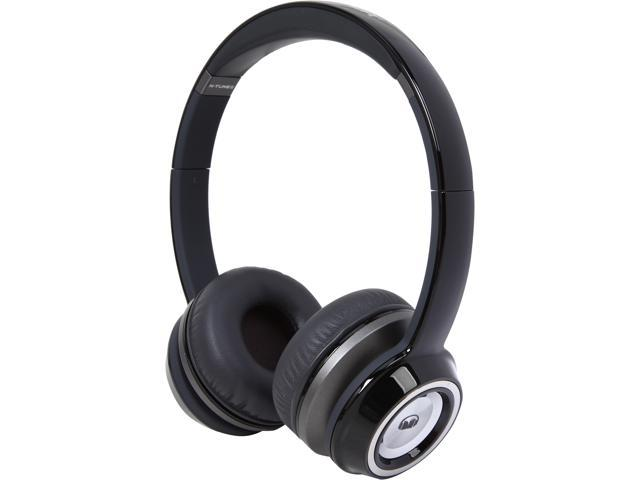 Monster N-Tune On-Ear Headphones-Black
