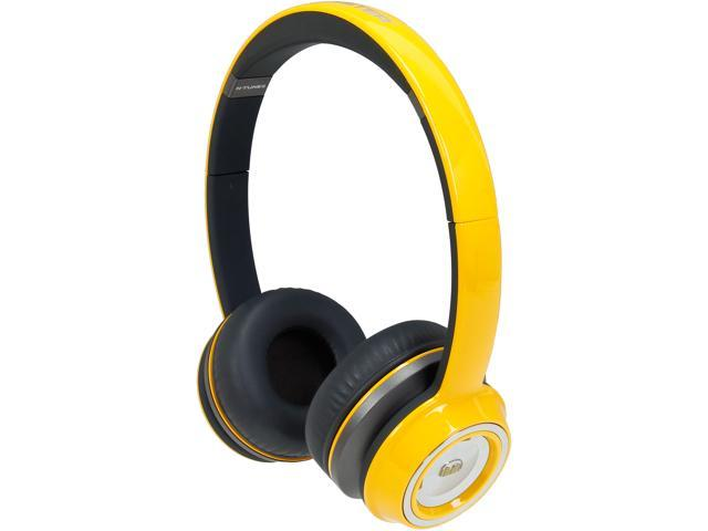 Monster N-Tune On-Ear Headphones-Yellow