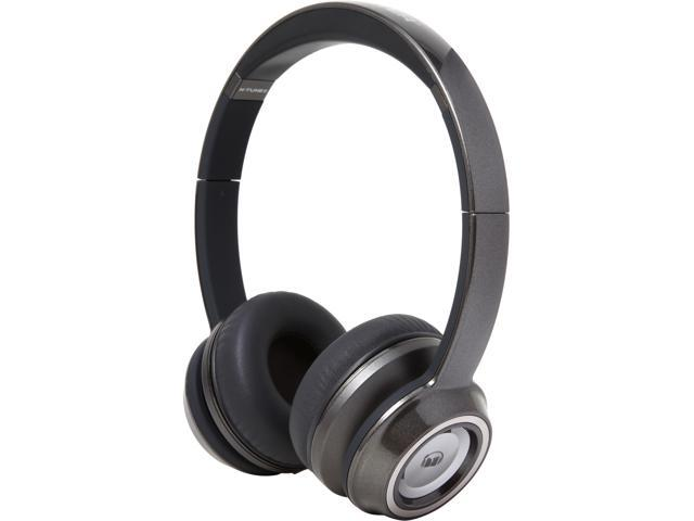 Monster N-Tune On-Ear Headphones-Pearl Grey