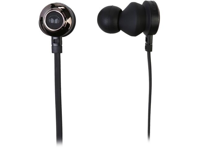 Monster Clarity HD In-Ear Headphones-Black