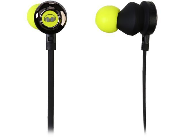 Monster Clarity HD In-Ear Headphones-Neon Green