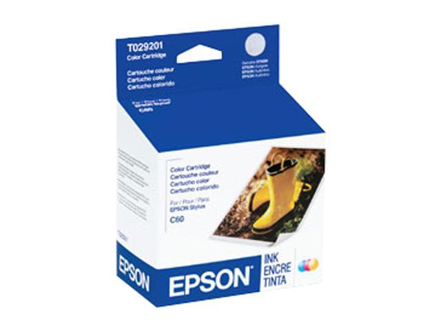 EPSON T029201 Ink Cartridge Tri-color photo