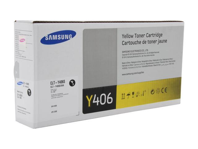 samsung clt y406s toner cartridge yellow. Black Bedroom Furniture Sets. Home Design Ideas