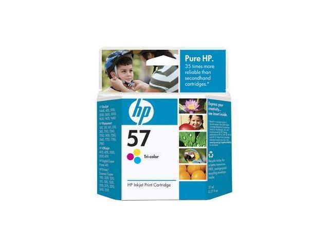 HP 57 Tri-Color DeskJet Cartridge 3 Colors (C6657AN#140)